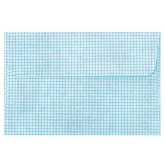 Festa Xadrez - Envelope Ultrafest Xadrez Azul Claro 10 unidades FL - Envelope Ultrafest Xadrez Azul Claro 10 unidades