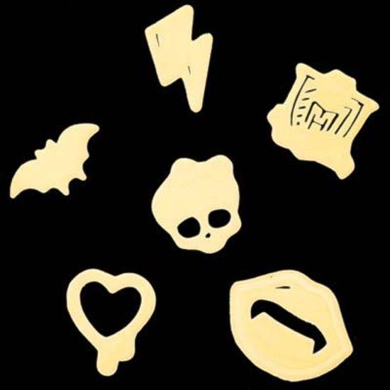 FL - Enfeite para Decoração de Paredes Monster High - Brilha no Escuro