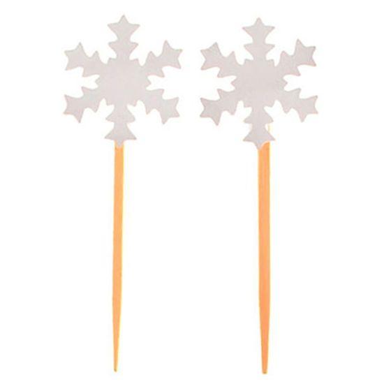 Festa Frozen Disney - Enfeite para Doces no Palito Frozen - 06 unidades Enfeite para Doces no Palito Frozen - 06 unidades