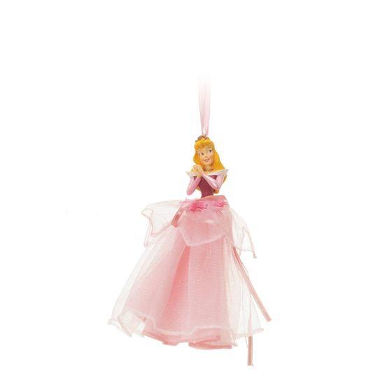 Enfeite para Pendurar Bela Adormecida Rosa (Disney)  - 4 Unidades