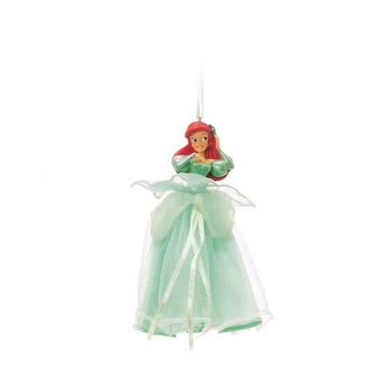 Enfeite para Pendurar Ariel Verde Claro (Disney)  - 4 Unidades