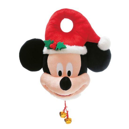 Natal Disney - Mickey Enfeite de Maçãneta Vermelho e Preto - 2 Unidades