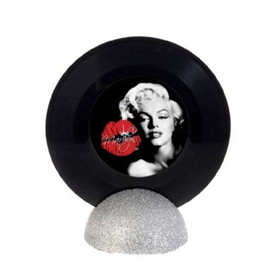 Enfeite de Mesa Disco de Vinil PEQUENO - Marilyn Monroe