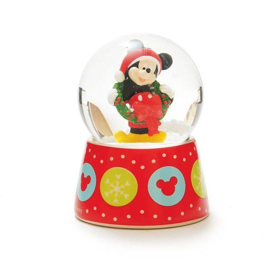 Globo de Vidro Mickey com Guirlanda (Disney)  - 2 Unidades