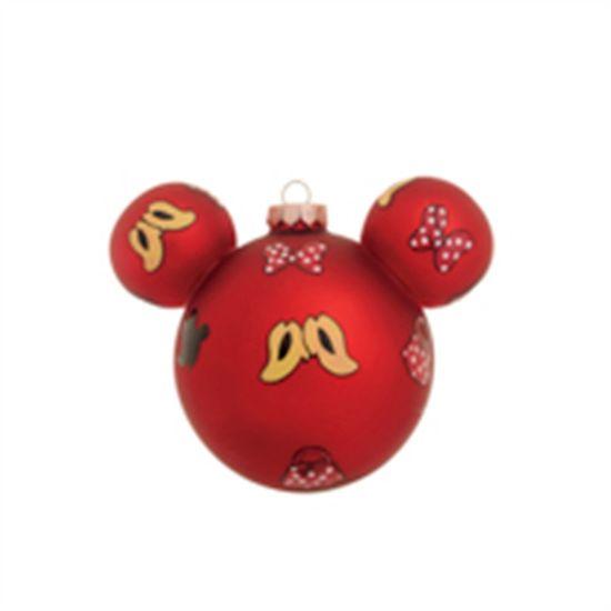 Bola Vermelho 10 cm (Disney)  - 1  Jogo com 2 Peças