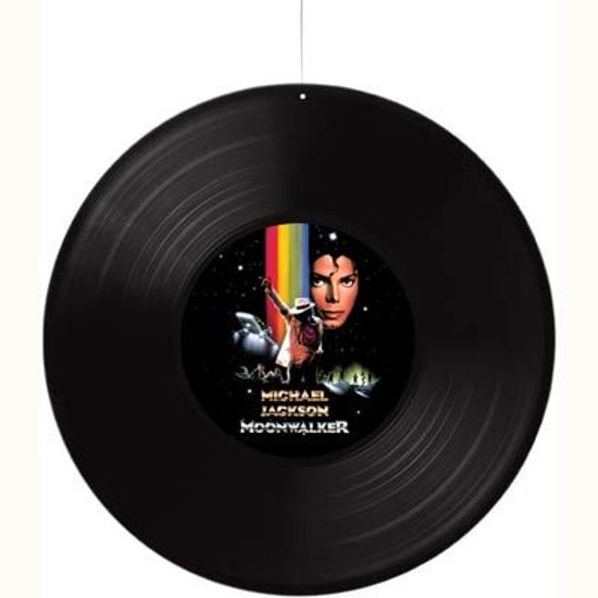 Disco de Vinil Michael Jackson para Pendurar no Teto