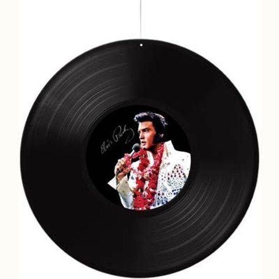 Disco de Vinil Elvis Presley para Pendurar no Teto