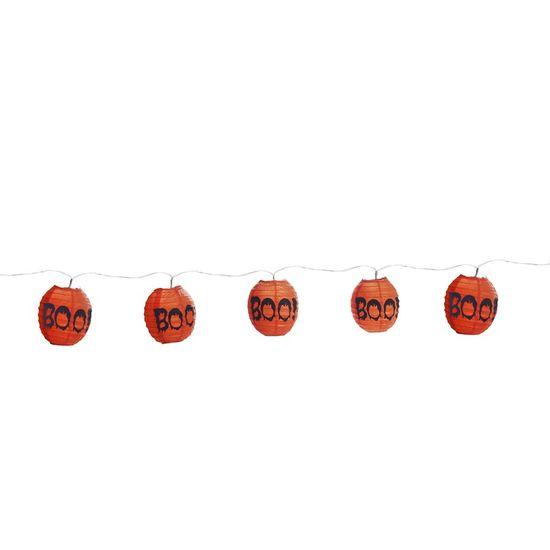 Cromus Halloween - Varalzinho de Globos Luminosos BOO - 01 Pacote com 12 unidades