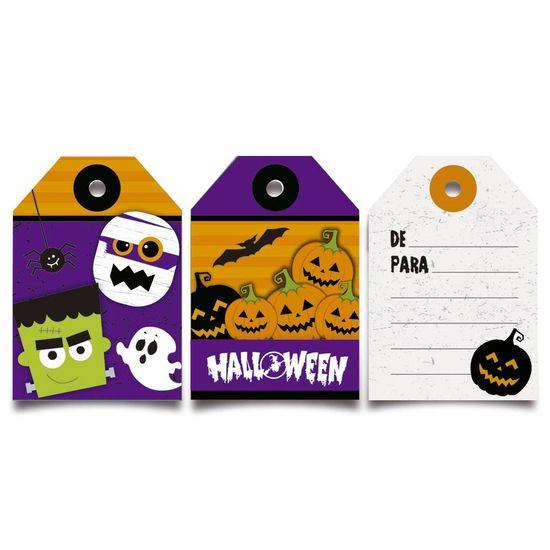 Cromus Halloween - Tag De/Para - 12 unidades