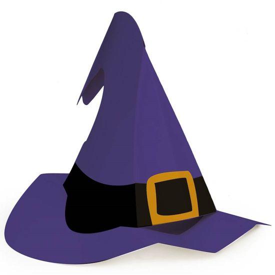 Cromus Halloween - Chapéu de Bruxa Cartonado