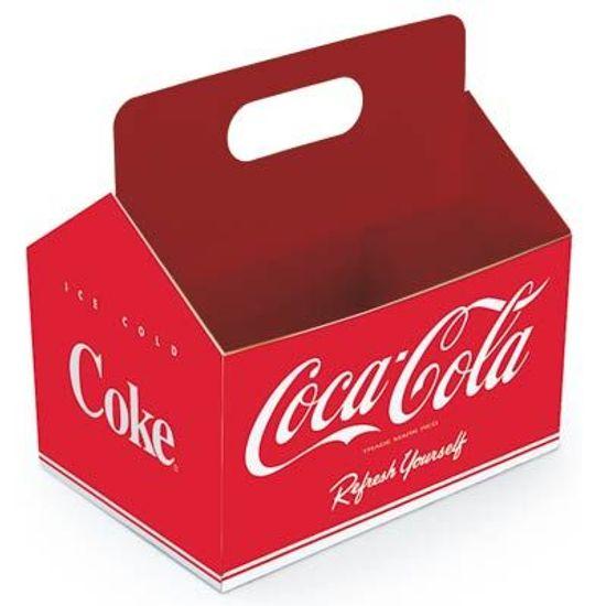 FL - Cromus Coca-Cola - Cachepô MÉDIO 08 unidades