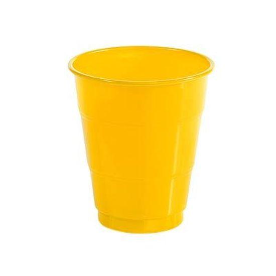 Festa Dragon Ball Super - Copo Plástico 210ml Happy Line Amarelo - 10 unidades Copo Plástico 210ml Happy Line Amarelo - 10 unidades