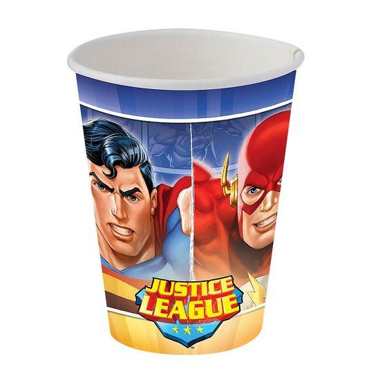 Festa Liga da Justiça - Copo de Papel Nova Liga da Justiça - 08 unidades Copo de Papel Nova Liga da Justiça - 08 unidades