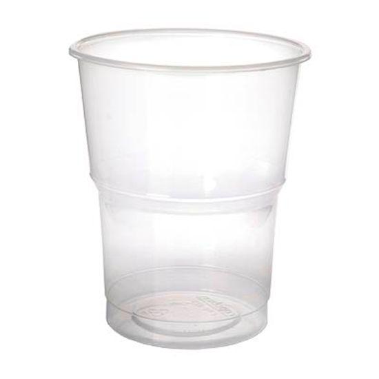 Copo Descartável Cristal Maleável 300ml - 40 Un