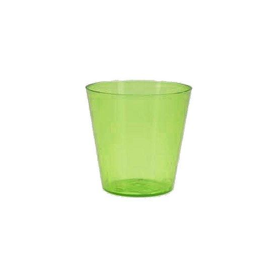 Copinho Acrílico para Doces 25ml Verde - 10 unidades