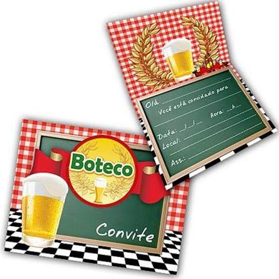 Convite Especial Festa Boteco - 08 unidades