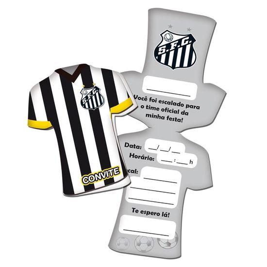 Convite de Aniversário Santos F. C. - 08 Un