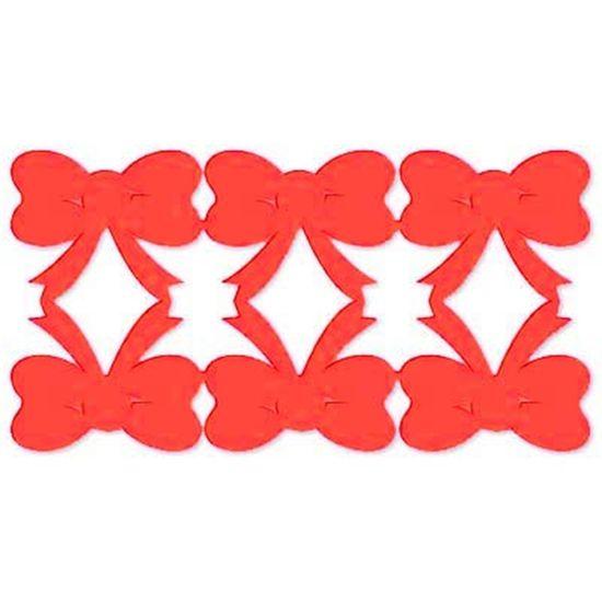 FL - Conjunto de Laços em E.V.A Vermelho ou Branco 06 unidades