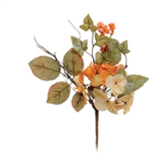Poinsettia com Flor Lar (Flores Cabo Médio) - 3 Unidades