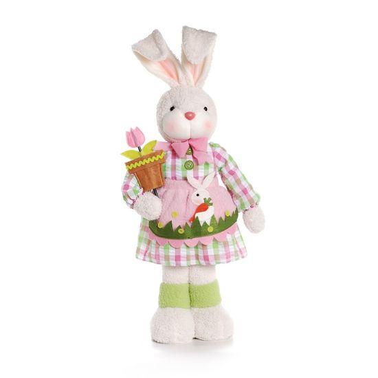 Cromus - Coelha Vestido Xadrez Rosa Claro ( Jelly ) - 1 Unidade