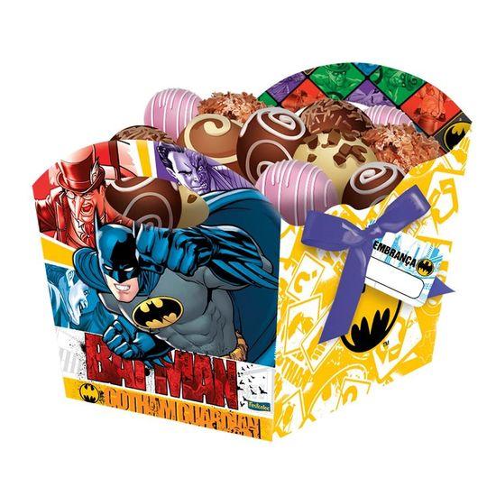 Festa Batman - Cachepô Batman Clássico - 08 unidades Cachepô Batman Clássico - 08 unidades