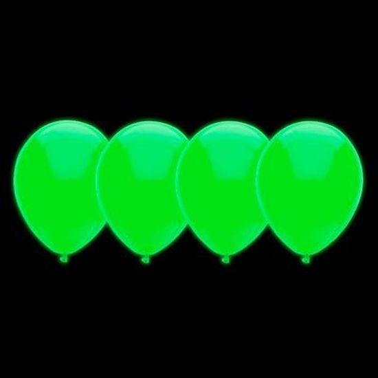 Balão Neon Cores Cítricas nº 10 (25cm) Verde - 30 Un