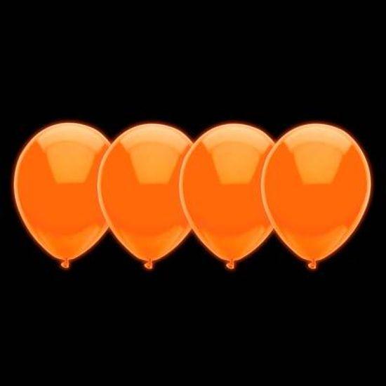 Balão Neon Cores Cítricas nº 10 (25cm) Laranja - 30 Un