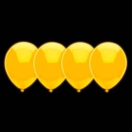 Balão Neon Cores Cítricas nº 10 (25cm) Amarelo - 30 Un