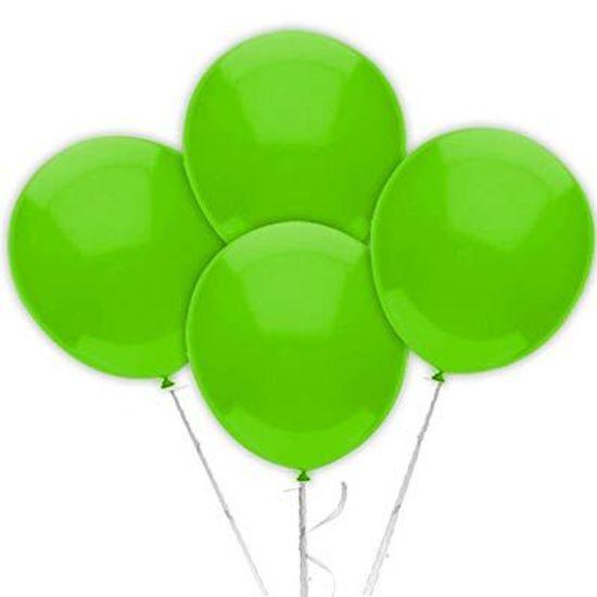 Balão TRADICIONAL nº 9 Liso Verde Claro - 50 unidades