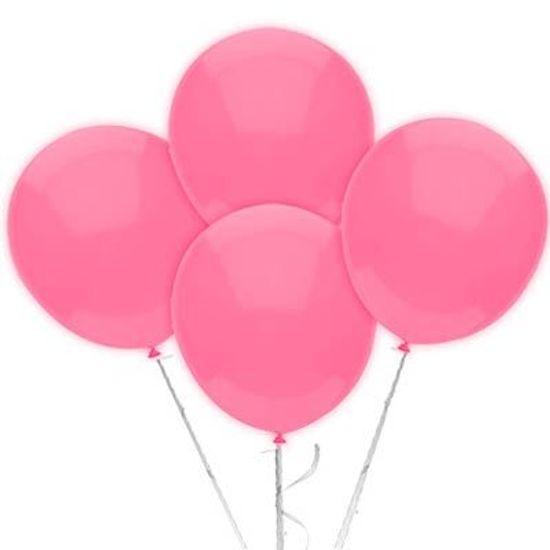 Balão TRADICIONAL nº 7 Liso Rosa Claro - 50 Un