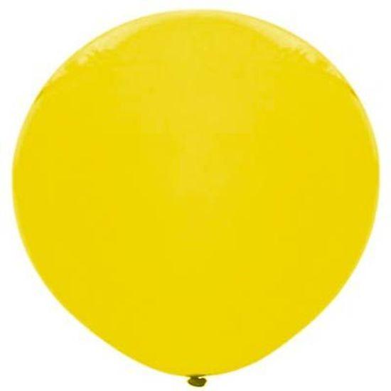 Balão Gigante Bexigão nº25 - Amarelo