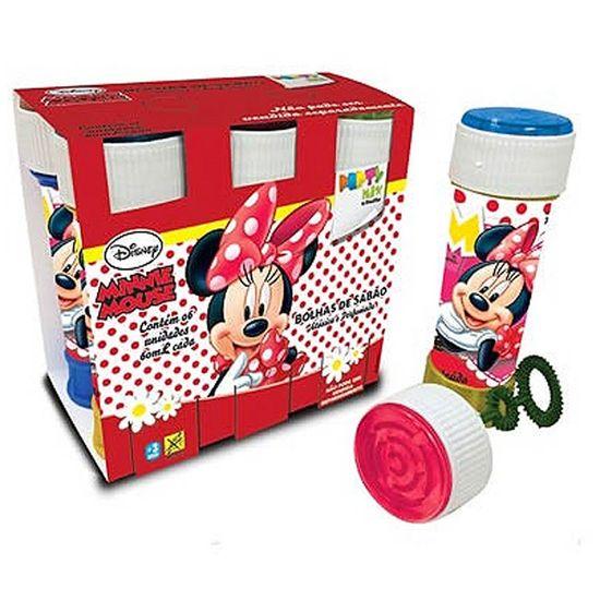 Lembrancinha Infantil - Bolinha de Sabão Minnie Mouse