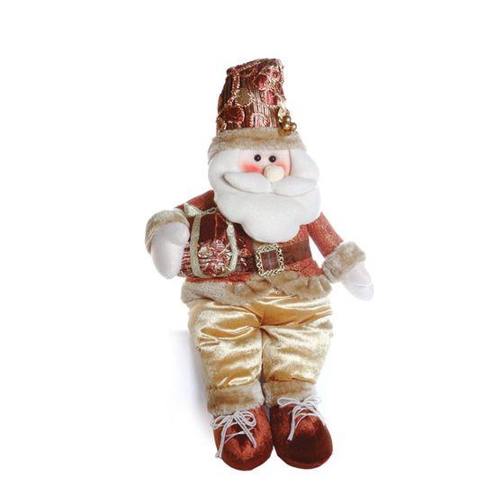 Papai Noel em Pé com Presente Cobre 75cm (Hawaii) - 1 Unidade