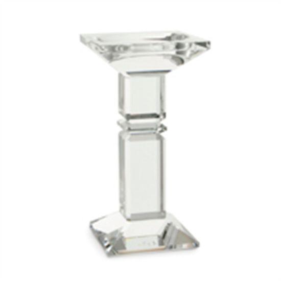 Castiçal Incolor Tamanho P (Castiçais em Cristal)  - 1 Unidade