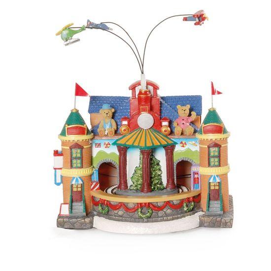 Fábrica Brinquedo Colorido Bivolt (Cenários com Movimento) - 1 Unidade