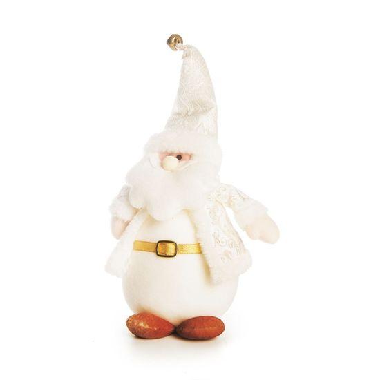 Papai Noel em Pé Branco 23cm (Dinamarca) - 1 Unidade