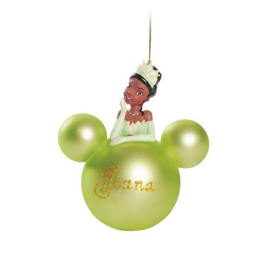 Bola 3D Tiana Verde Limão 8 cm
