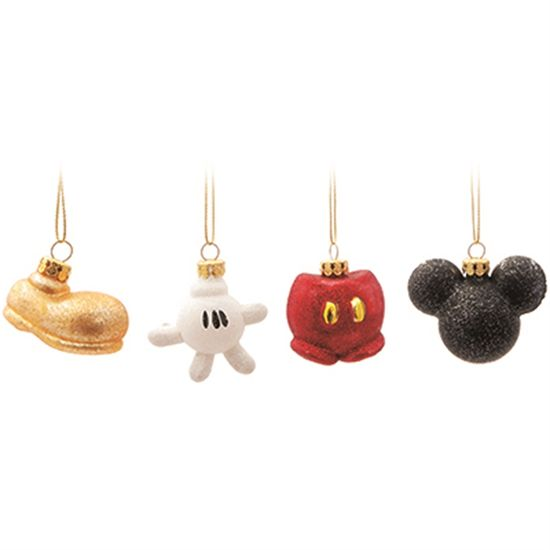 Disney - Kit Miniaturas Mickey (4cm) 04 unidades