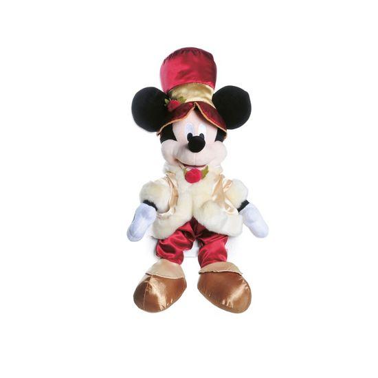 Mickey Vitoriana de Pelúcia Ouro e Vermelho 45 cm (Disney)  - 1 Unidade