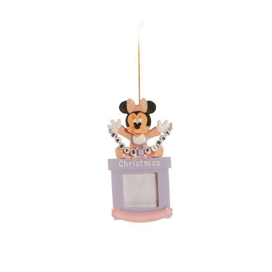 Natal Disney - Porta Retrato Baby Minnie - 1 Unidade