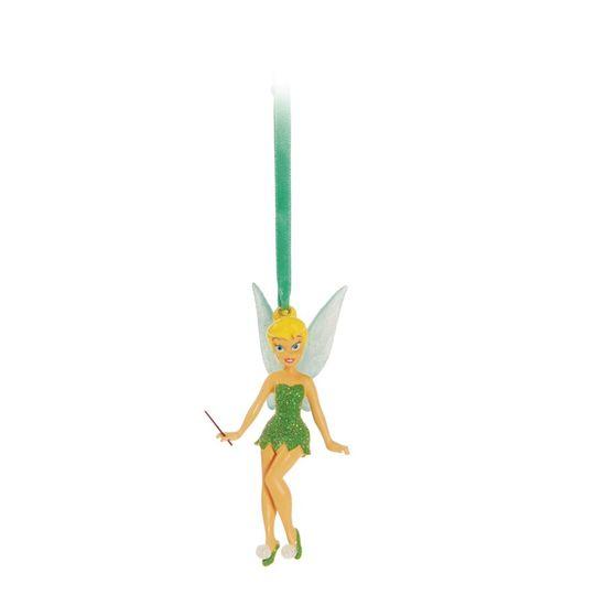 Natal Disney - Enfeite para Pendurar - Sininho Verde Claro - 3 Unidades