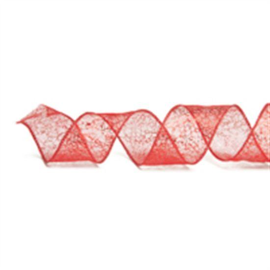 Fita Tela Vermelho 3,8 cm x 9,14 mts