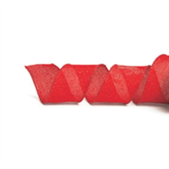 Fita Juta Vermelho 3,8 cm x 9,14 mts