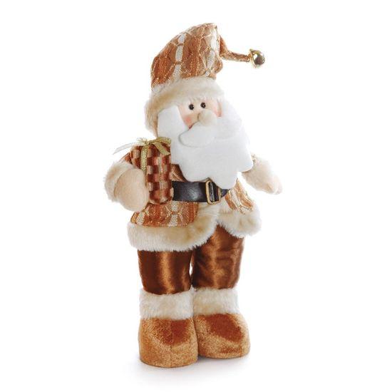 Papai Noel em Pé com Presente Cobre 32cm (Hawaii) - 1 Unidade