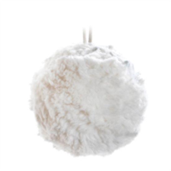 Enfeite de Bola (Soft Touch)  - 4 Unidades