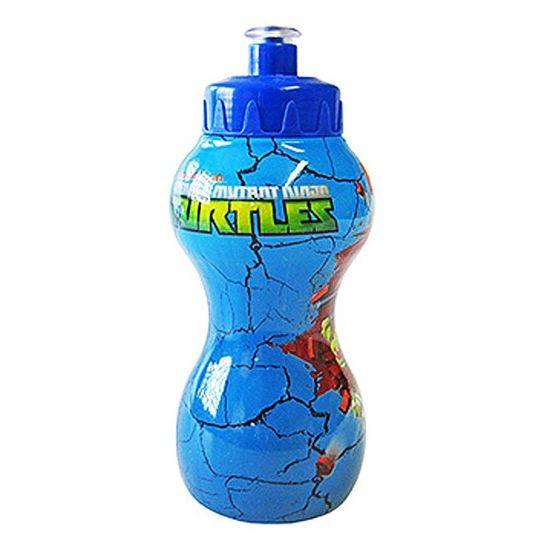 Festa Tartarugas Ninja - Squeeze Divertido 350ml - Tartarugas Ninjas Squeeze Divertido 350ml - Tartarugas Ninjas