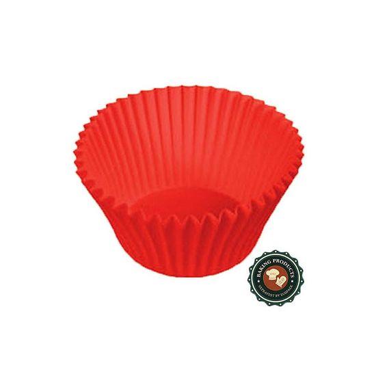 Forminha Ecopack Nº 4 Liso Vermelho - 85 unidades