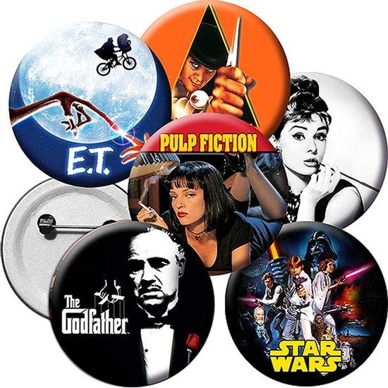 Broche Especial Filmes Clássicos - Para Lembrancinha