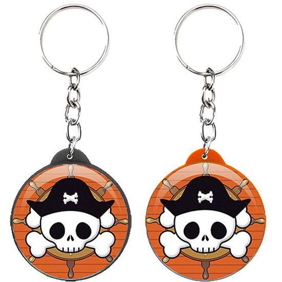 Festa Piratas - Chaveiro Plástico Especial Piratas NEW Chaveiro Plástico Especial Piratas NEW