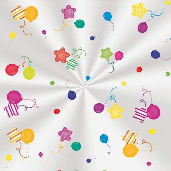 Cromus - Saco Poli Transparente 10x14cm Colors Balloons 100 unidades